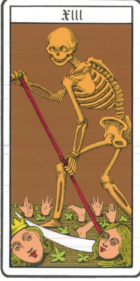 Tarot de Marseille - La Mort
